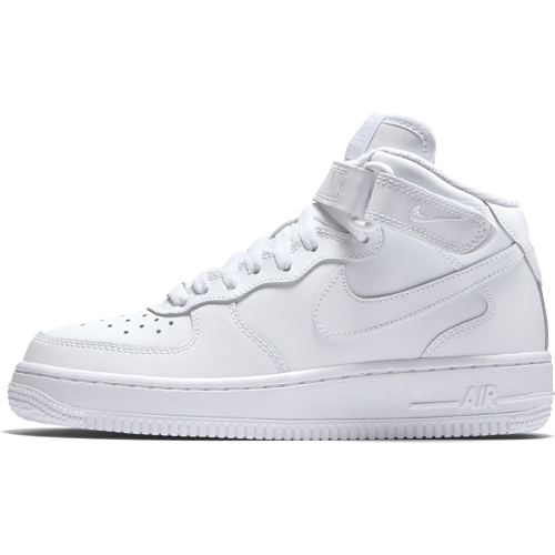 BUTY JUNIOR NIKE AIR FORCE 1 MID BIAŁE 314195-113