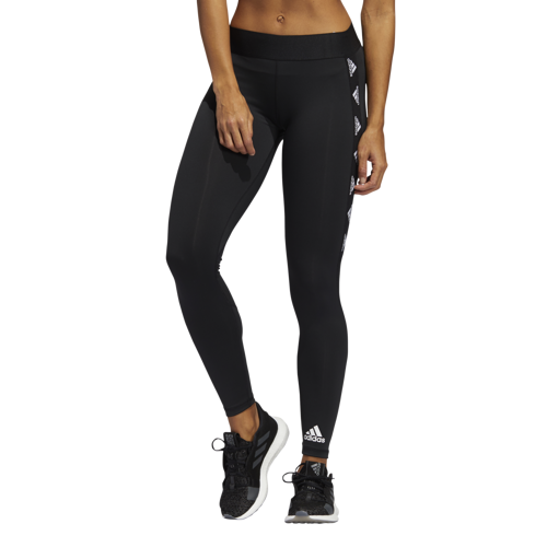 LEGGINSY DAMSKIE ADIDAS  ALPHASKIN BADGE OF SPORT TIGHTS CZARNE FT3144