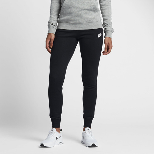 SPODNIE DAMSKIE NIKE NSW FLEECE TIGHT PANTS CZARNE 807364-010